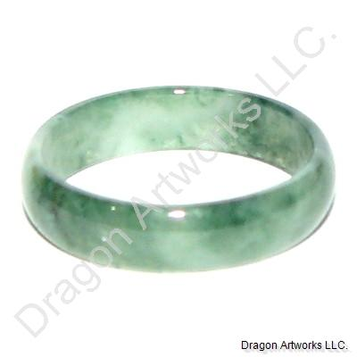 Staying Young Forever Green Jade Ring