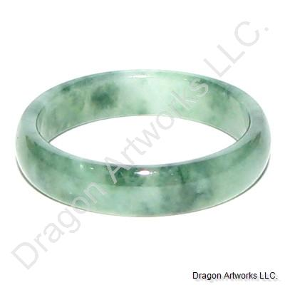 Chinese Purity Jade Band Ring