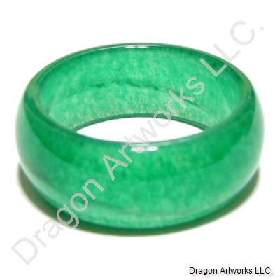 Memorable Chinese Green Jade Ring