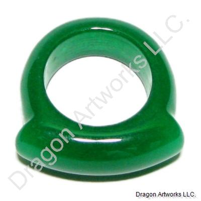 Excitement Green Jade Ring