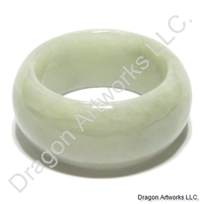 Green Jade Ring of Peace