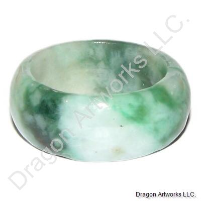 Green Jade Ring of Eternal Relationships