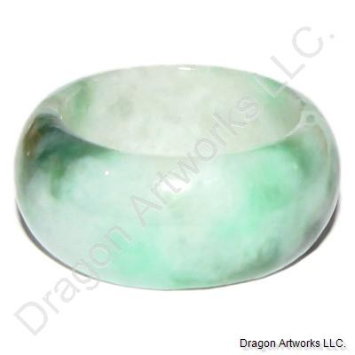 Green Jade Ring of Endless Love