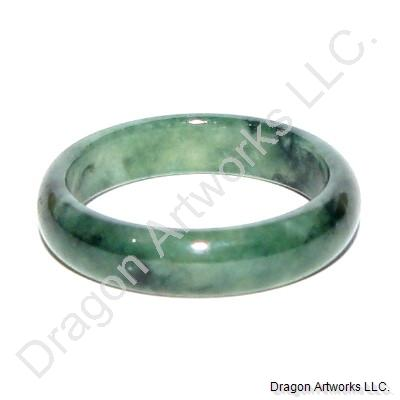 Noble Chinese Emerald Jade Ring