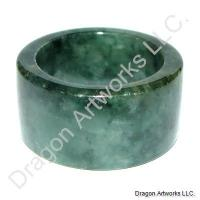 Chinese Jade Thumb Ring of Sweet Dreams