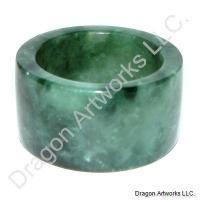 Healing Chinese Jade Thumb Ring