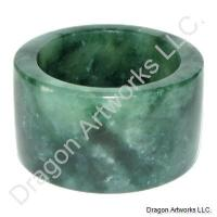 Green Jade Thumb Ring of Health