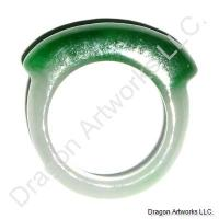 Chinese Jade Ring of Perfect Craftsmanship