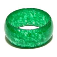 Chinese Green Jade Ring of Translucence