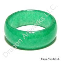 Chinese Green Jade Ring of Care