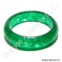 Chinese Green Jade Ring of Respect
