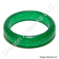 Alluring Chinese Emerald Jade Ring