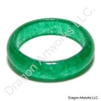 Chinese Green Jade Ring of Mystery