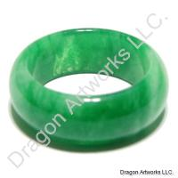 Green Jade Ring of Serenity