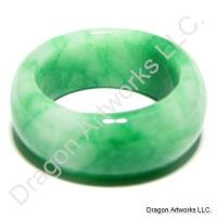 Jade Ring of Stunning Green Hues