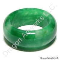 Emerald Green Jade Ring of Sweetness