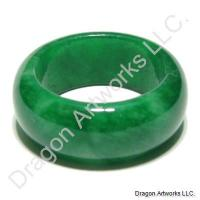 Chinese Green Jade Ring of Intuition
