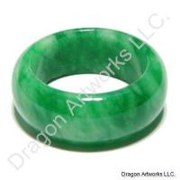 Worry Remover Green Jade Ring