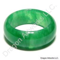 Treasurable Green Jade Ring