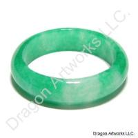 Green Jade Ring of Comfort and Care