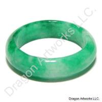 Beautiful Green Jade Ring of Admiration