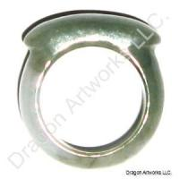 Carved Jade Ring of Great Success