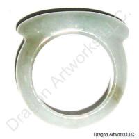 Magical Chinese Carved Jade Ring