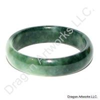 Chinese Jade Ring Band of Long Healthy Life